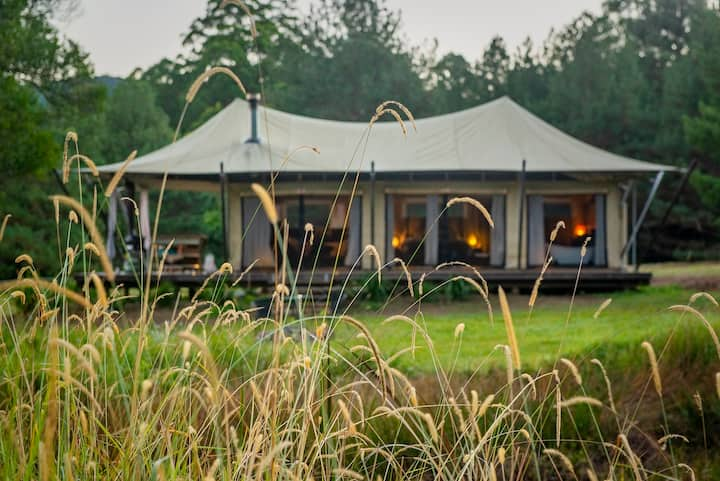 Luxury Glamping at Kanimbia in Obi Obi