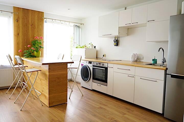 Cosy studio apartment, 5 min walk from city center