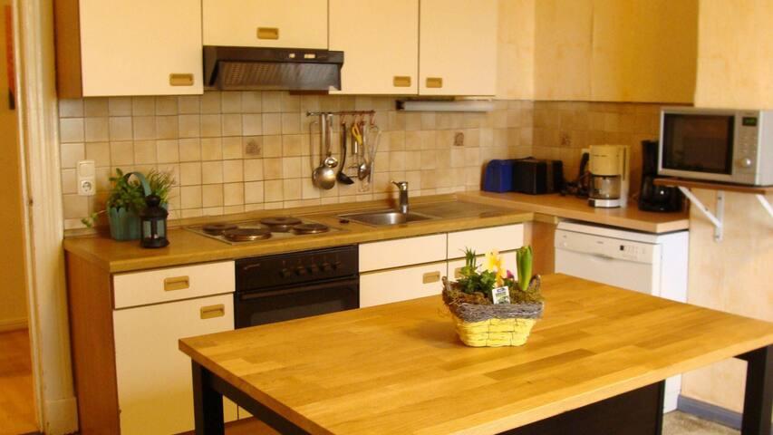 Küche im EG mit Kücheninsel