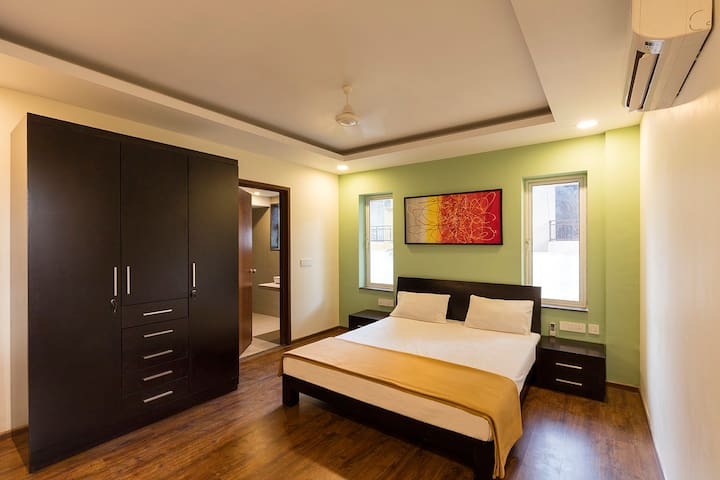 Calangute Beach 2 * 1 Bedroom Apartments Goa - Calangute - Appartement