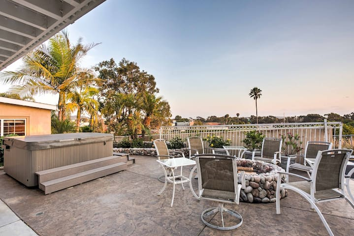 San Diego House w/Hot Tub & Views of Mission Bay!