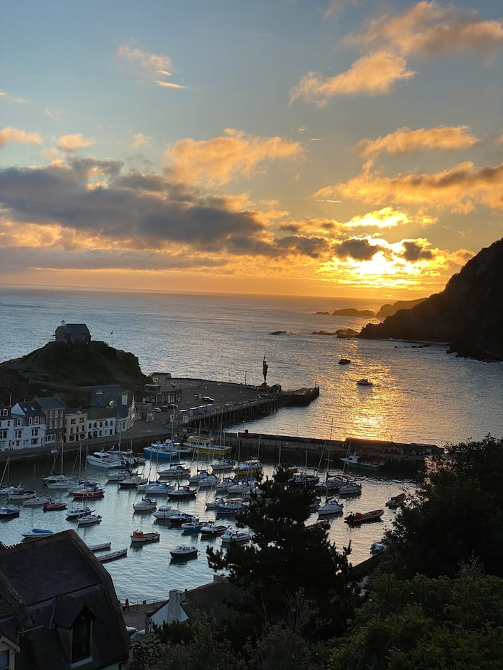 Ilfracombe's Best Sea View Property