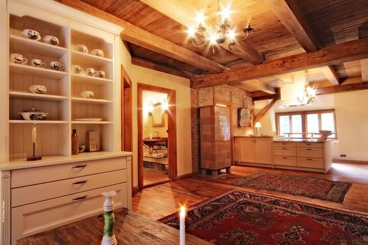 Schloss Stülpe - Maisonette  Wohnung Country Star