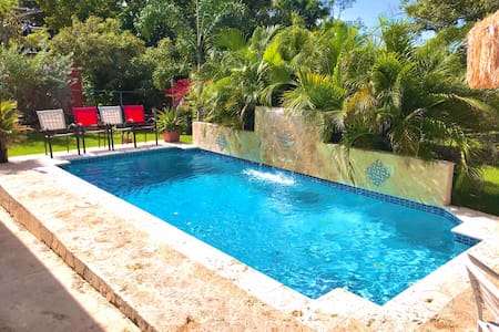 ❤️Private Pool,Beach home,BioBay T Walking Distance