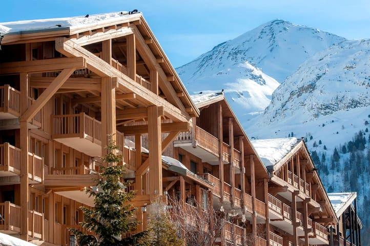 Appartement au coeur de Val D'Isère | Cuisine + Casiers à ski