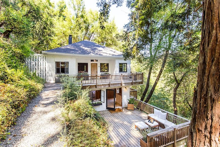 Serene Mill Valley gem in the redwoods - Mill Valley - Casa