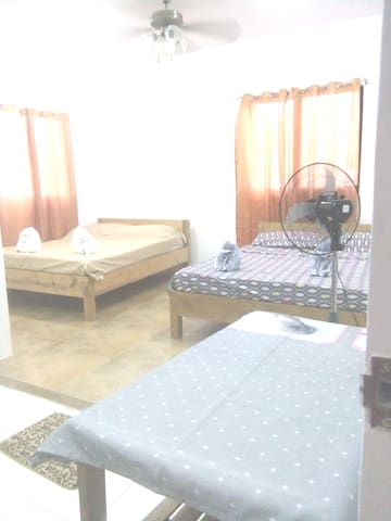 Large Room with air-conditioned   Private Bathroom