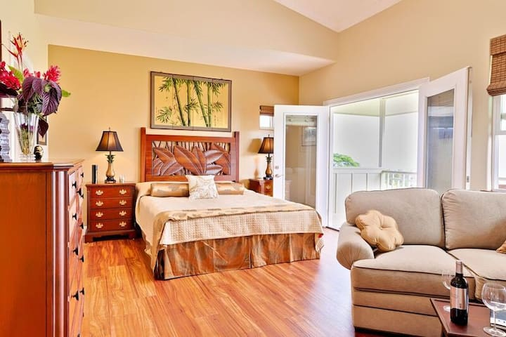 Moana Pali House -  Bamboo suite - ocean view