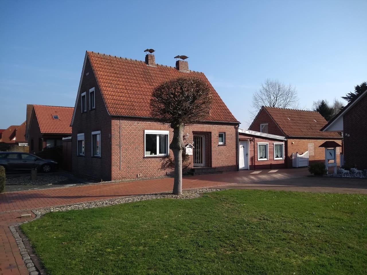 Haus inkl. Kapitänszimmer