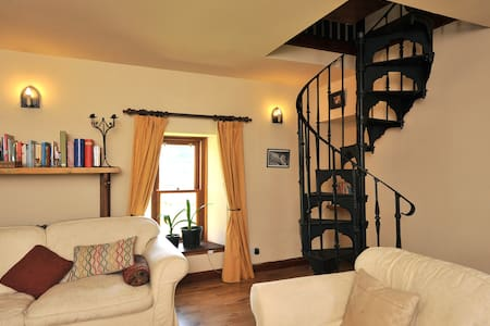 En-suite double bedroom with a lounge - Craigellachie - Bed & Breakfast