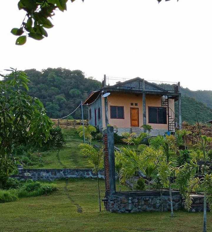 House in The Hill of Lakey Peak, SUmbawa