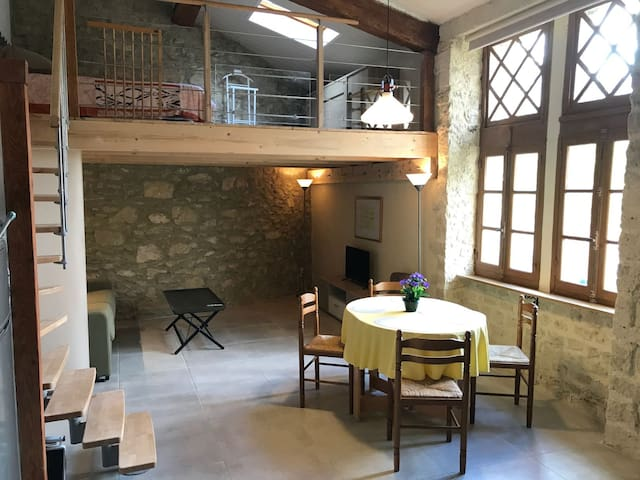 Studio de la Tour dans les jardins du château