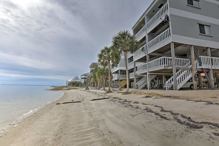 NEW! Waterfront Escape w/ Shell Point Beach Access