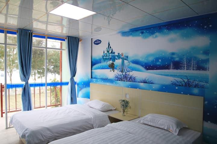 全线海景双床房A
