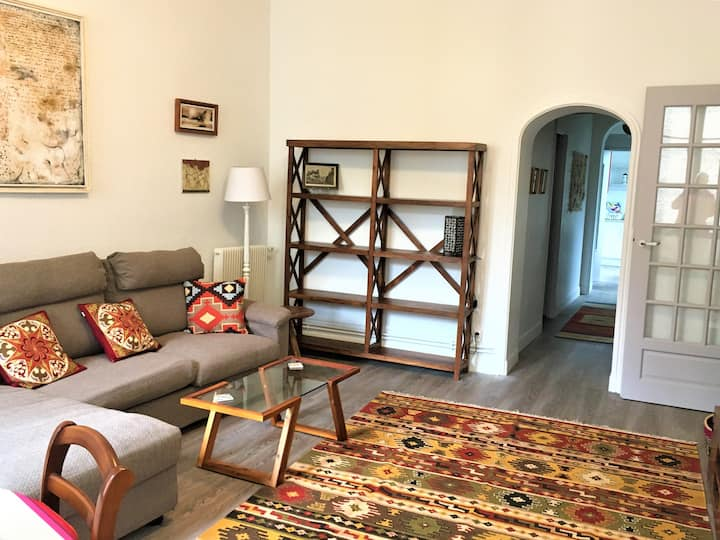 Quiet flat in the ♥ of Pau (just renovated) ★★★★★