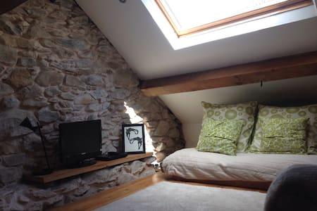 Quarryman's cottage with views - Llanllechid