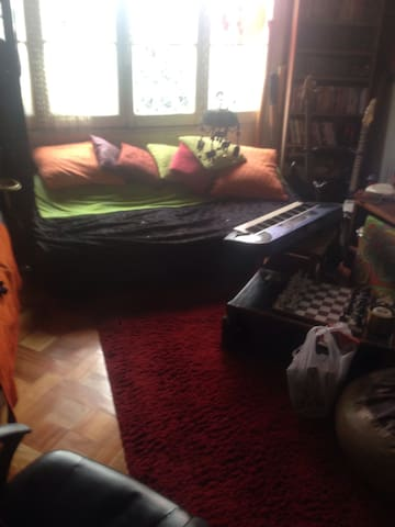 Sofá cama en depto central - Recoleta - Bed & Breakfast