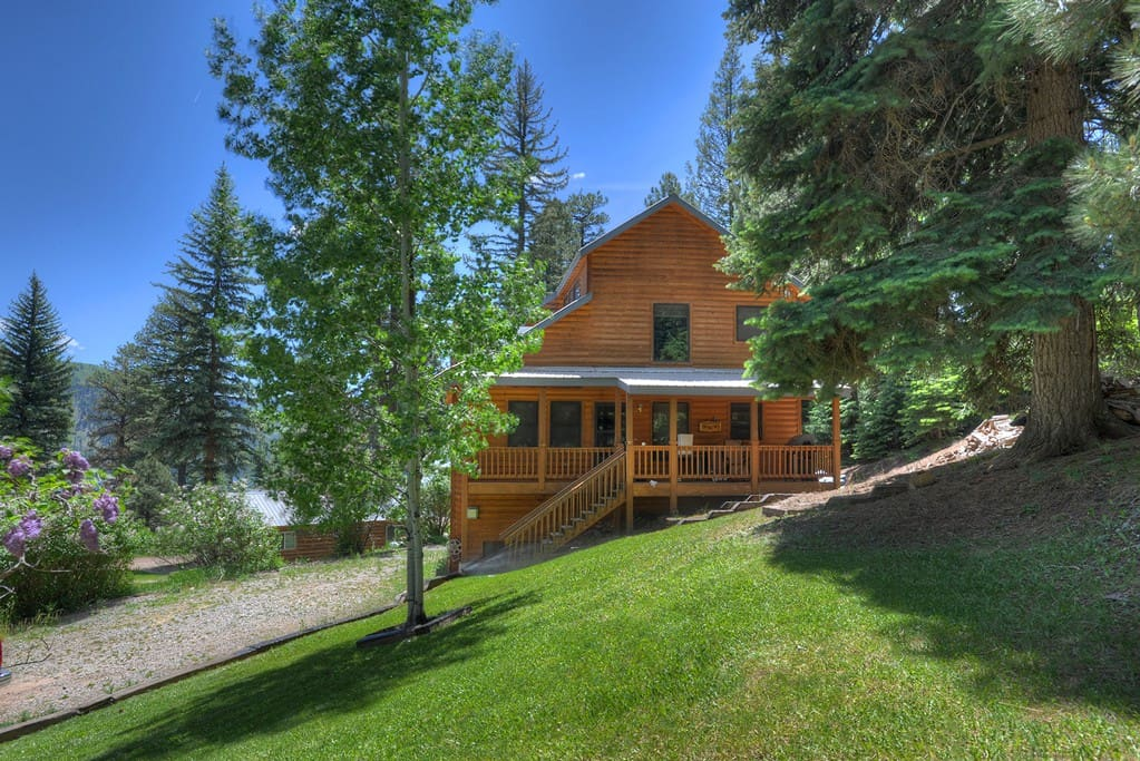 Hillside Lake House Vacation Rental Cabin Cabins For