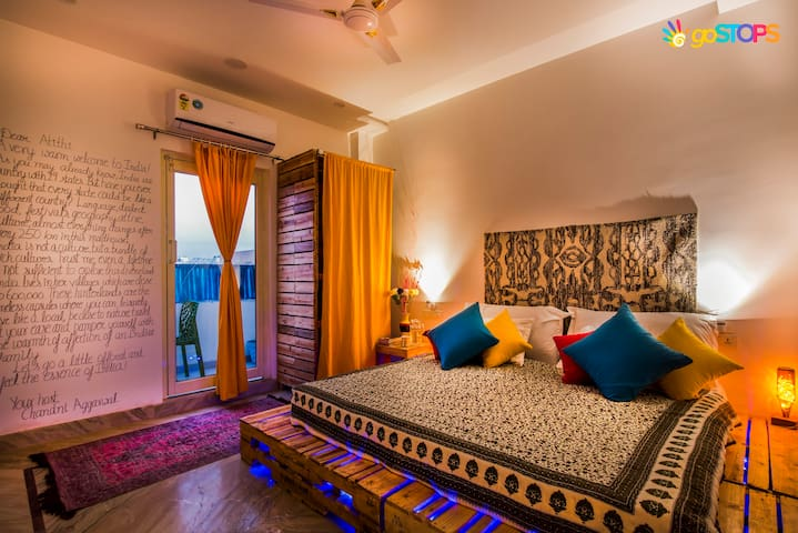 Superior Deluxe Room at goStops Agra