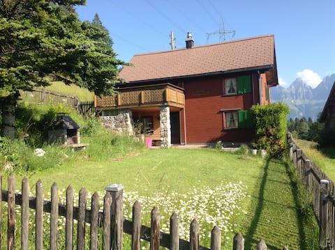 House Sunnehalde Flumserberg- Tannenheim