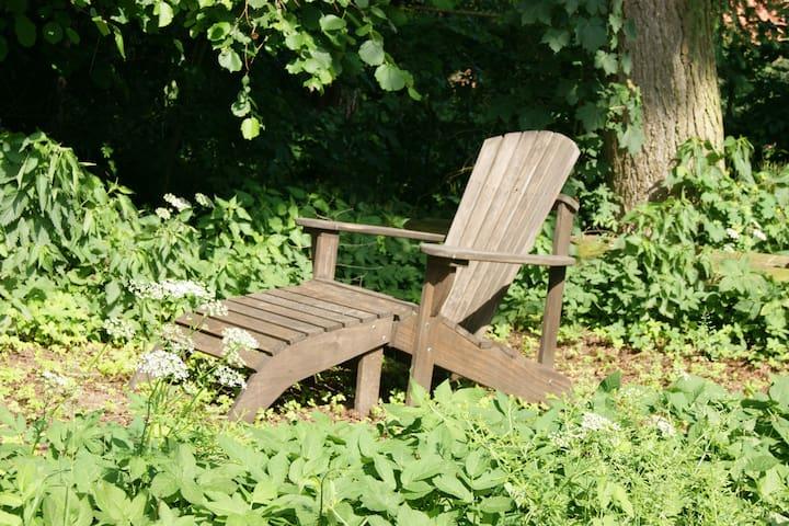 Ausspannen in idyllischer Atmosphäre am Wäldchen! - Natendorf - Συγκρότημα κατοικιών