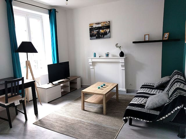 Cosy flat fully equiped - City Center - WIFI
