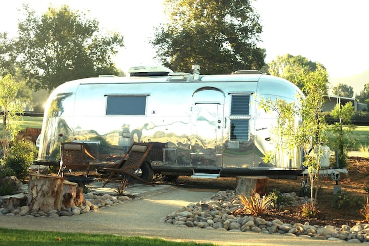 Vintage Airstream at Temecula's Wine Trail #3