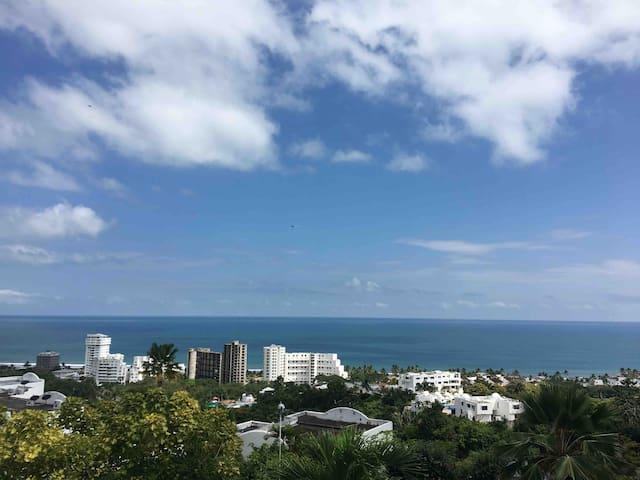Dept. Cumbres del Golf,  Hermosa vista al Mar