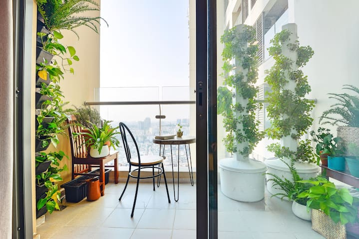 ❤PoolView Apt 92m2★2BR ★PoolView★5 min to BenThanh