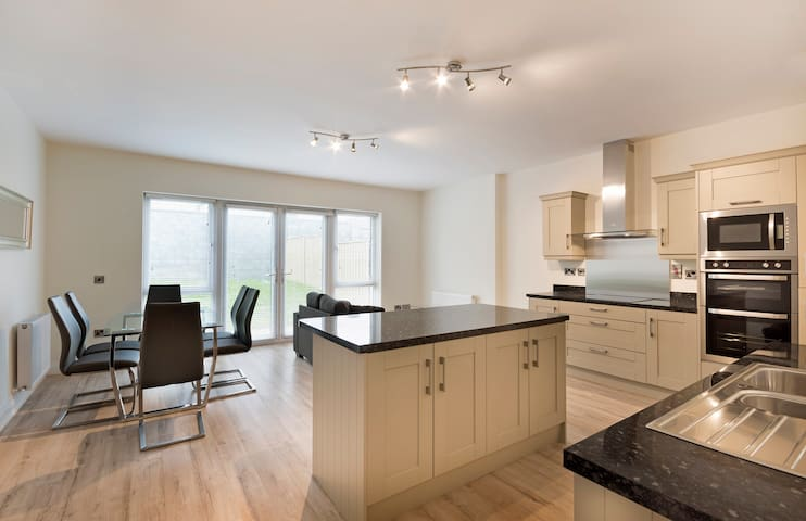 Modern House 10 minutes from Dublin Airport.