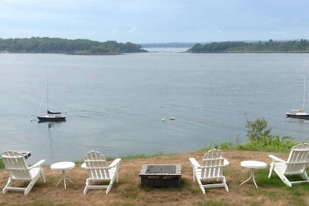 3BR with Stunning Sunset views of Casco Bay! - Portland