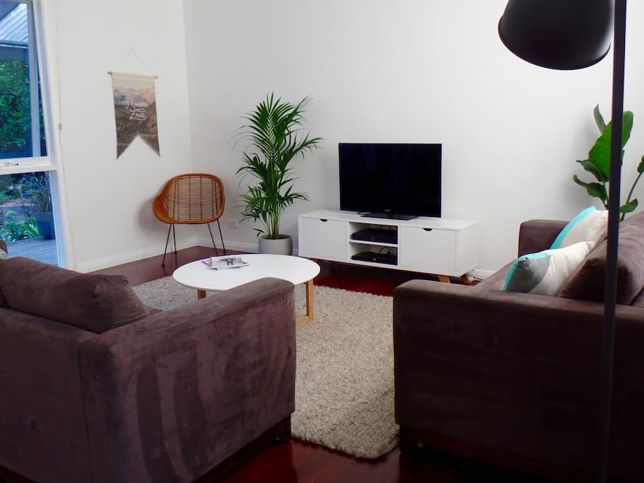 TV with FOXTEL and DVD Player