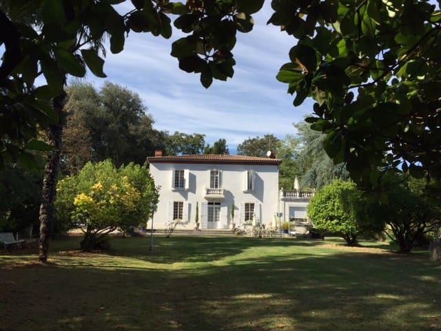 Hâvre de paix dans le Gers - Chambre beige - Fleurance - Bed & Breakfast