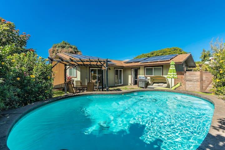 CLOUD 9 BEACH HOUSE - private pool, walk to beach
