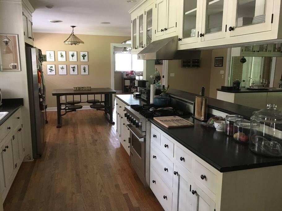 Beautiful galley kitchen!