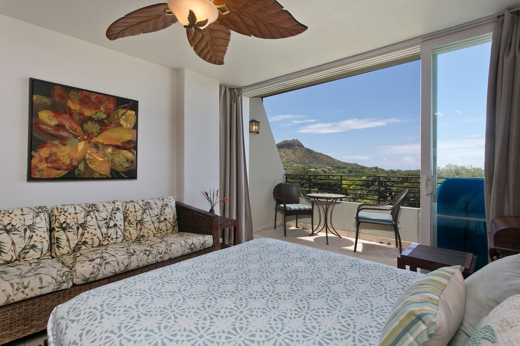 Great views from private lanai