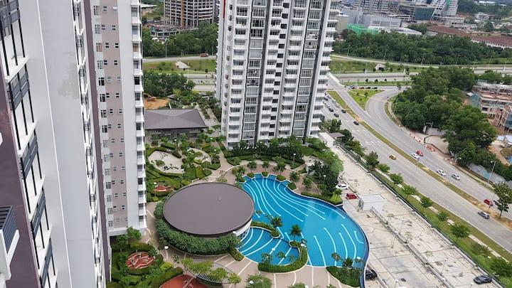Alyssa Putrajaya Pool View 3R 3B 1200sq ft