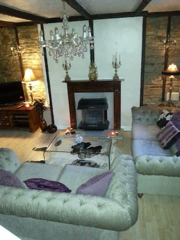 Charming village 2 bed country stone built cottage