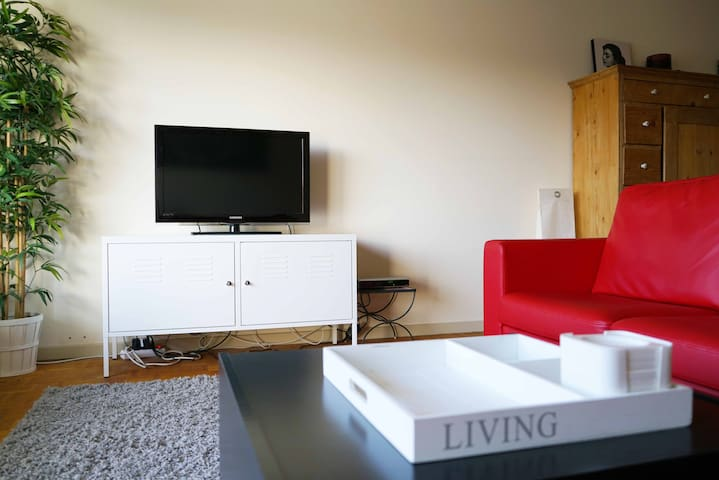 Big apt - 2 bedrooms - 1 private parking space - Leuven - Leilighet