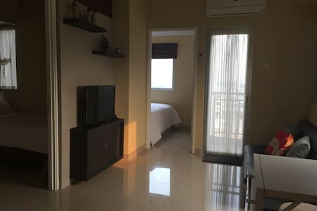 Homy 2BR at Pakubuwono Terrace Apartment