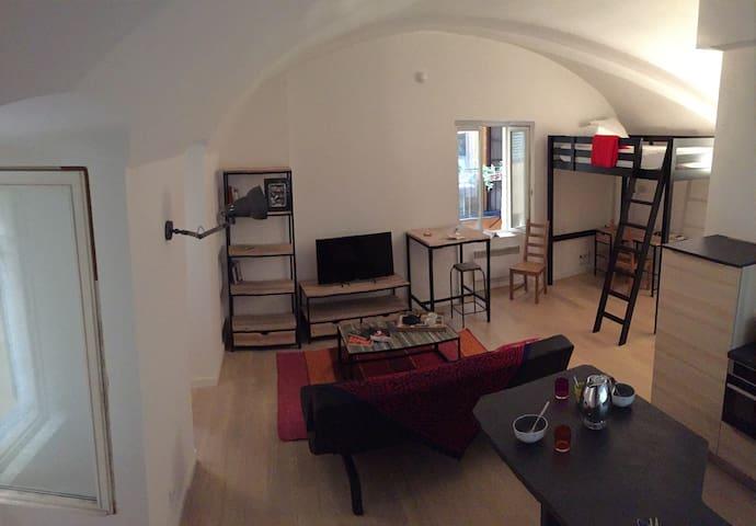 Studio in Vieux Nice - Nice - Leilighet