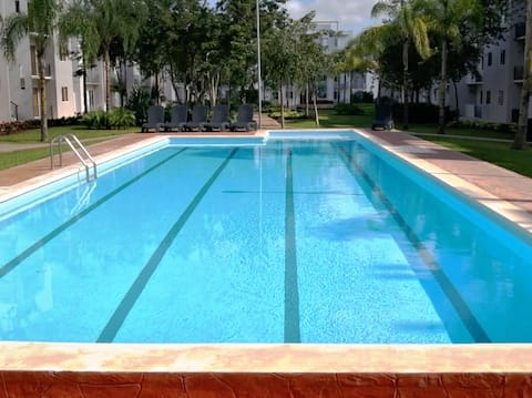 Jardines 4, piscina y seguridad 24 horas❤️