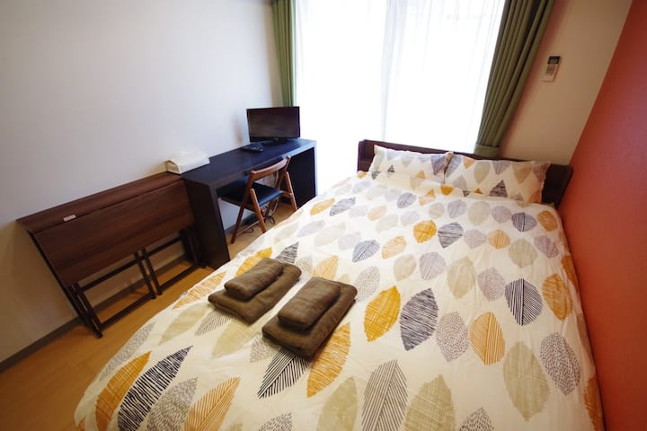 23) 1min Gojo st. Private WIFI Central of Kyoto!