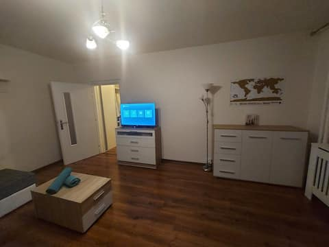 1-roms leilighet i nærheten av sentrum Spisska Nova Ves