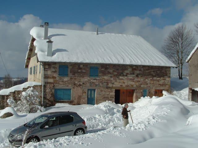 gite à la campagne - Girmont-Val-d'Ajol - Daire