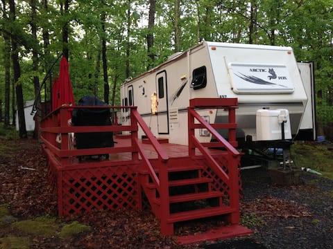 RV experience in campground!