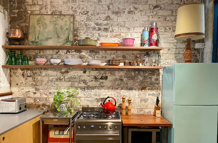 Eclectic Revamped Garage in NEWTOWN Warehouse
