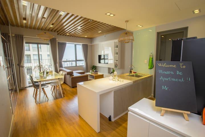 Luxury Flat, High Floor, Pool & Gym, NetFlix