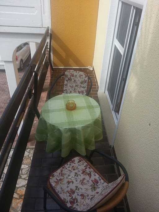 Balcony - Table with chairs