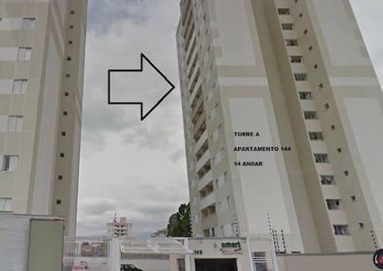 Apartamento básico no centro de Taubaté - Taubaté - Appartement